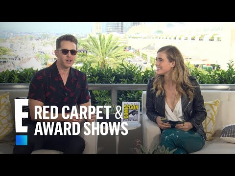 Josh Dallas on Filming Without Wife Ginnifer Goodwin  E! Red Carpet & Live Events