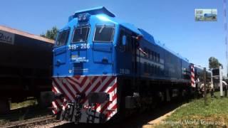 319-206 ex Renfe Nuevos Ferrocarriles Argentinos recuperacion