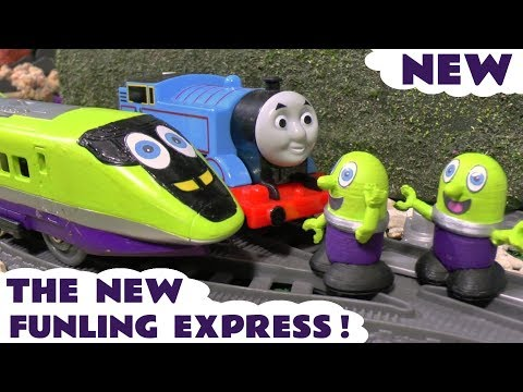 Funny Funlings new Funling Express toy train with Thomas The Tank Engine TT4U