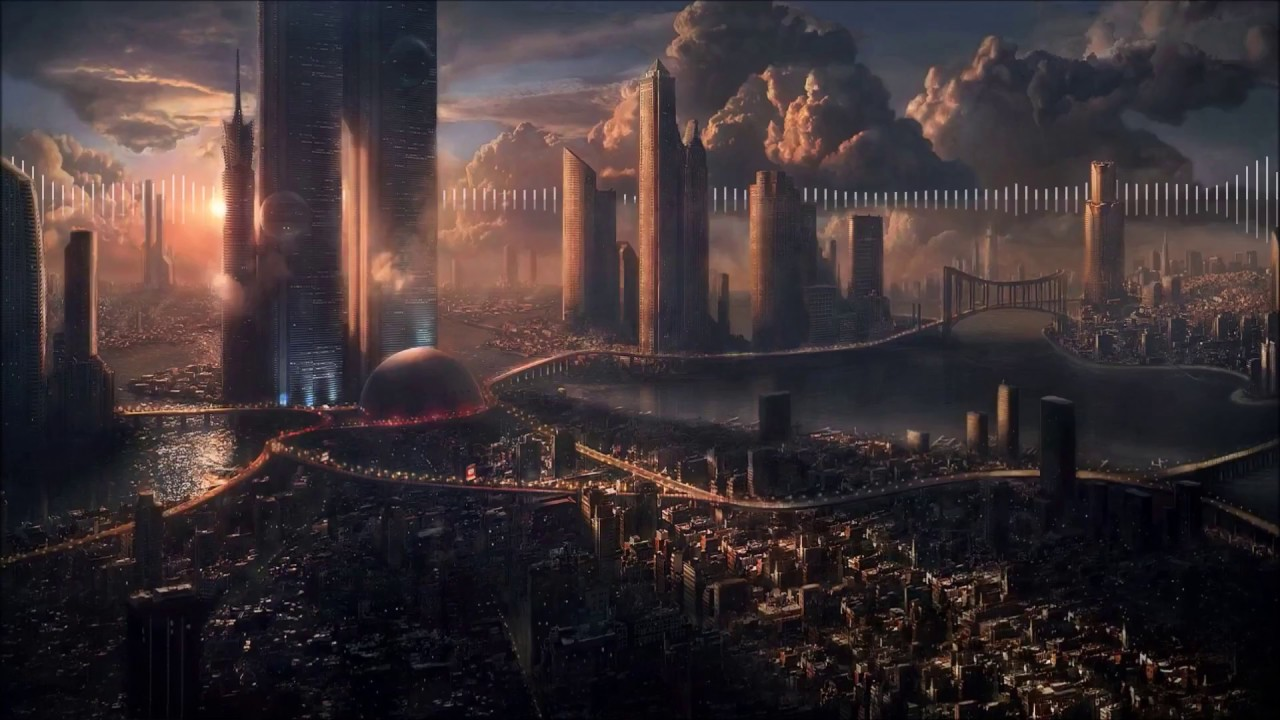 sci-fi city - wallpaper engine - youtube