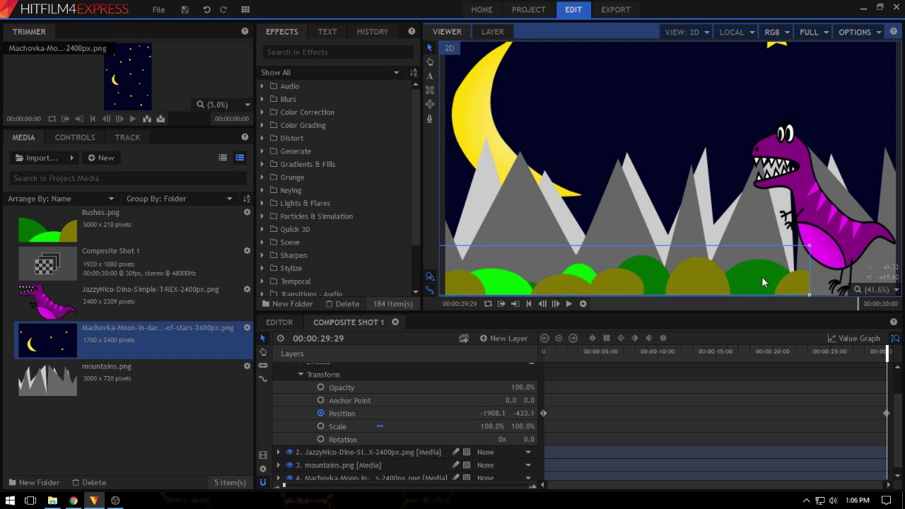 HitFilm Animation Tutorial - YouTube