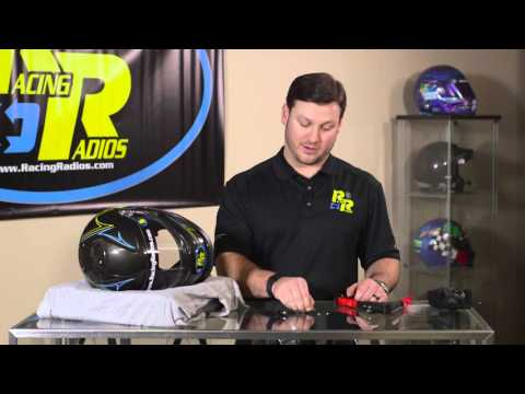 "Racing Radios, ""HOW TO SERIES""- Helmet Install"