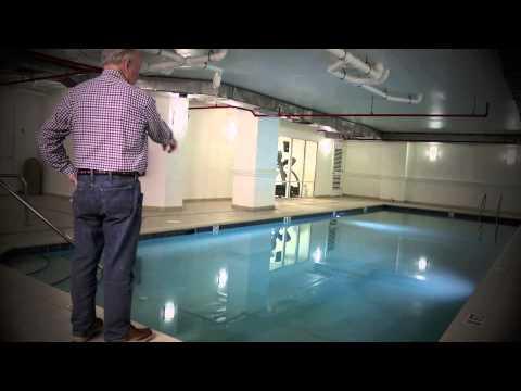 Underwater Pool Surface Repair