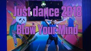 Just dance 2018 - Blow Your Mind by Dua Lipa MEGASTAR (Brasil Game Show 2017)