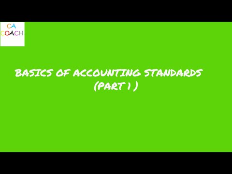 1 Basics of accounting standards group 1 and 2