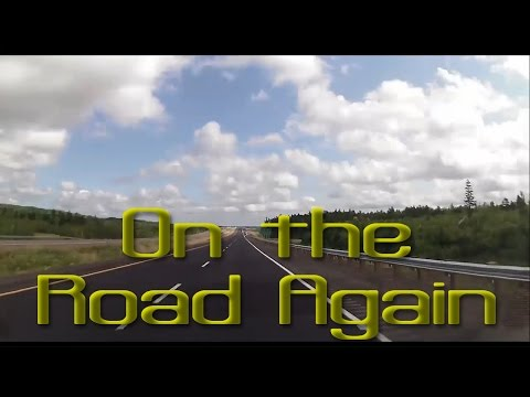 RoadTrip!  Time Lapse of drive from Ontario to PEI