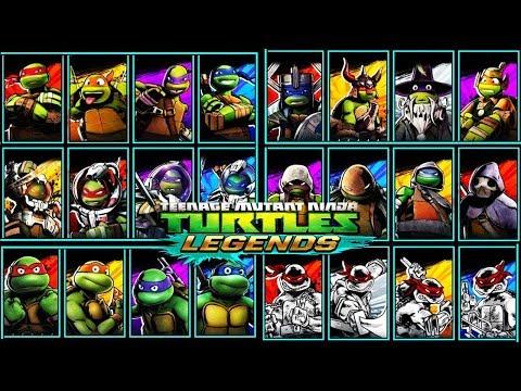 Teenage mutant ninja turtles legend - СОСТАВЫ ОТ ПОДПИСЧИКОВ. ВИДЕО ИГРА ДЛЯ ДЕТЕЙ ЧЕРЕПАШКИ НИНДЗЯ