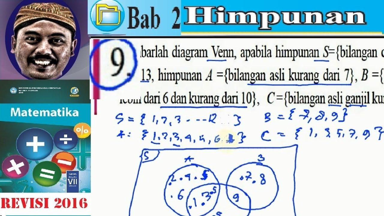Himpunan matematika kelas 7 bse kurikulum 2013 revisi 2016 lat 23 himpunan matematika kelas 7 bse kurikulum 2013 revisi 2016 lat 23 no9 diagram venn ccuart Gallery