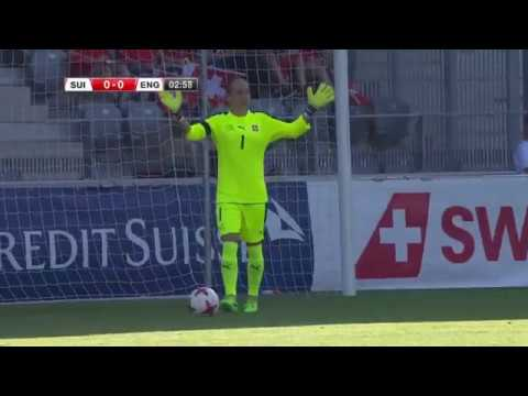 Switzerland Women v England Women (Football Friendly 10.06.17)