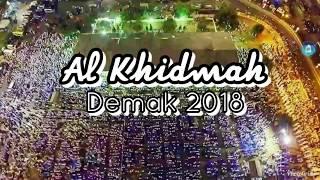 Dahsyatnya Jamaah Al Khidmah di Alun-alun Demak 2018