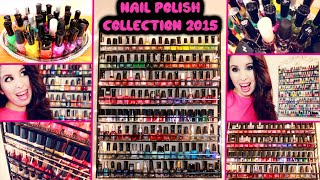 Nail Polish Collection 2015! | How I Organize My Nail Polish!