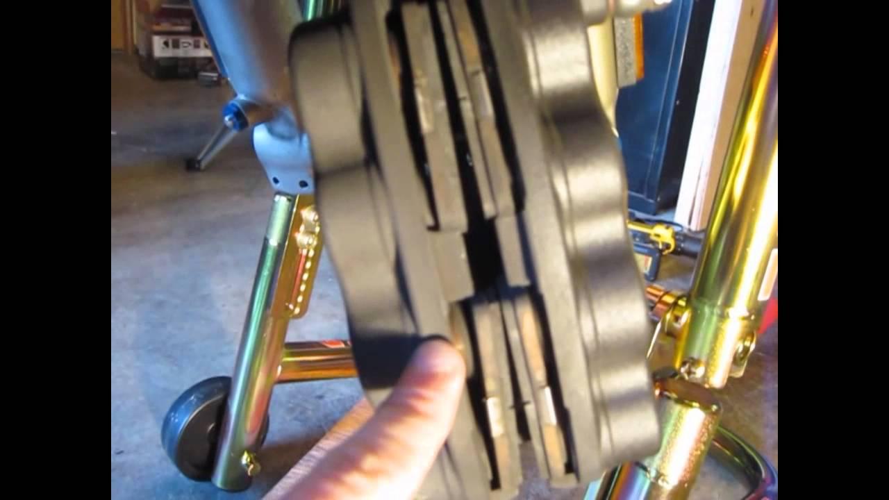 Cleaning brake caliper pistons