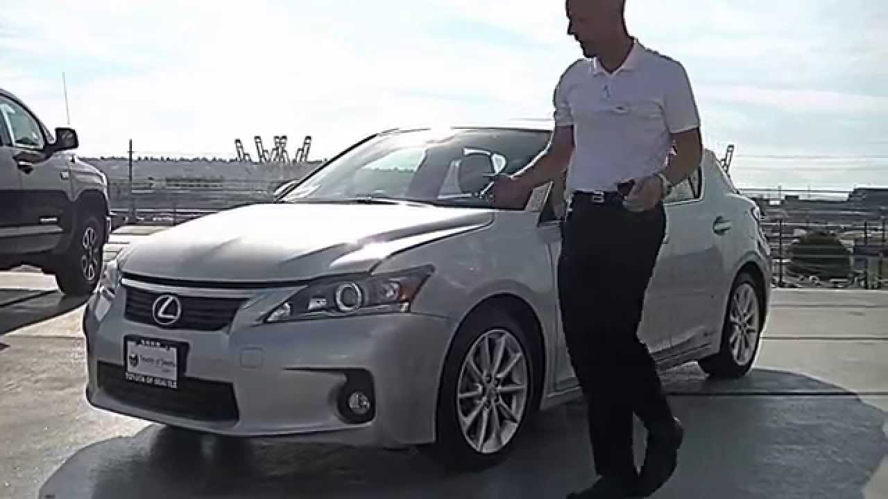 2013 Lexus CT 200h Review   We Review The CT200h Engine, Interior,  Performance And More   YouTube