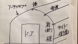 農業用ビニールハウス専門店モリシタ代表の森下幸蔵です。 http://www.m...
