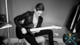 pearl jam even flow guitar cover 4k