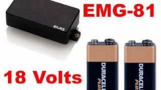 EMG 81 85 & 60 Comparison