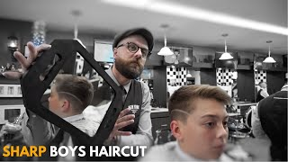 Sharp Boys Haircut | New York Barbers