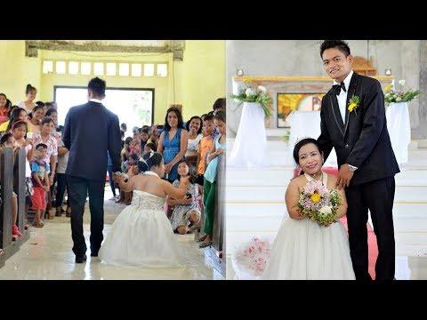 Pasangan pengantin ini menjadi Viral dan Menginspirasi Orang banyak