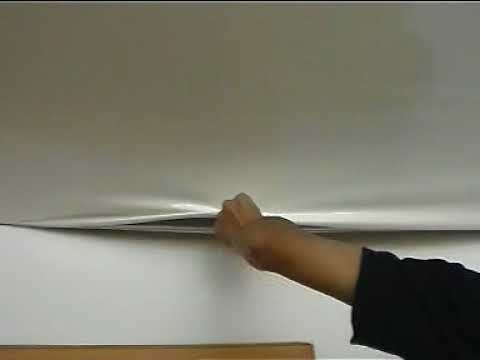 PVC ceiling film maintenance From ANGEL CHEN CHINA