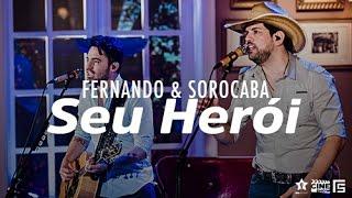 Fernando & Sorocaba - Seu Herói   DVD Anjo de Cabelos Longos