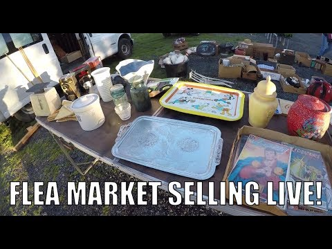 Flea Market Deals for Everyone! Selling Antiques and More!