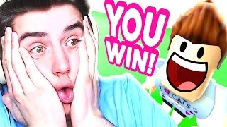 I BEAT THE IMPOSSIBLE CHALLENGE IN ROBLOX