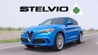 2019 Alfa Romeo Stelvio Quadrifoglio Review - Surprisingly THE BEST SUV EVER