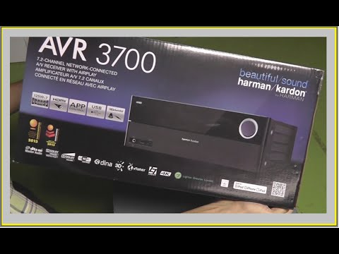 unboxing harman kardon avr 3700 youtube. Black Bedroom Furniture Sets. Home Design Ideas