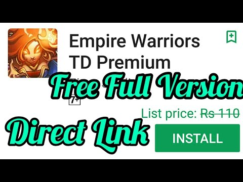 Free Empire Warrior TD Premium Full game android apk latest with direct download description link  #Smartphone #Android