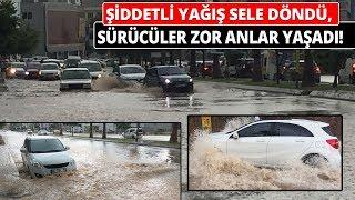 Adana'da Şiddetli Yağışlar Nedeniyle Yollar Nehre Döndü