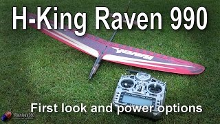RC First Look: Hobby King Raven 990 DLG