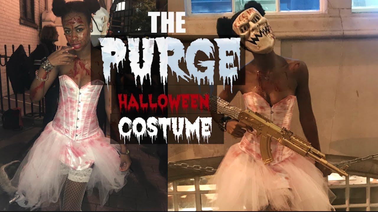 The Purge Candy Girl/FreakBride Halloween Costume