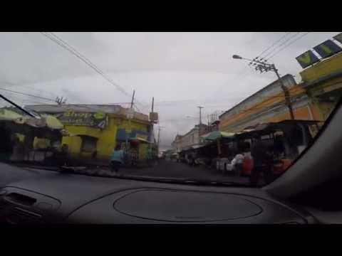 Driving around in San Salvador, El Salvador Part#1  Oct 2015 - GoPro 2.7K