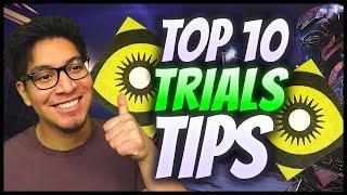 Frost's TOP 10 TÏPS To Go FLAWLESS Inside Trials of Osiris