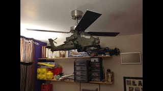 Apache Helicopter Ceiling Fan by Simonbonce Designs