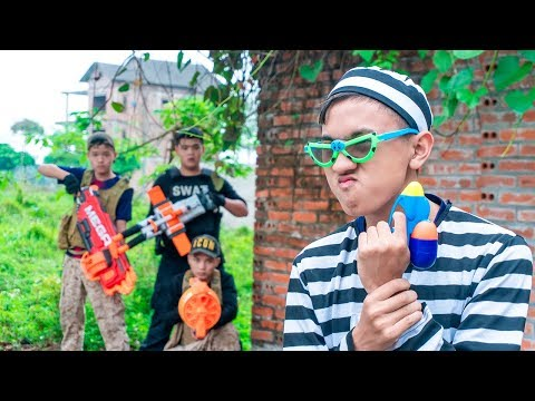 Nerf War: Special Force S.W.A.T Nerf Guns Uniform Soldiers of Assassin's Creed Escaped from Prison thumbnail