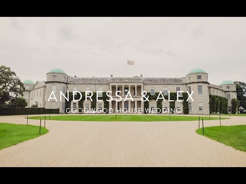 Alexandru & Andressa | Goodwood House wedding | Sussex wedding videographer