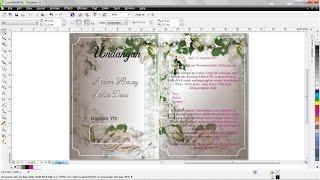 Cara Mudah Membuat Undangan pernikahan Dengan CorelDRAW X6 HD
