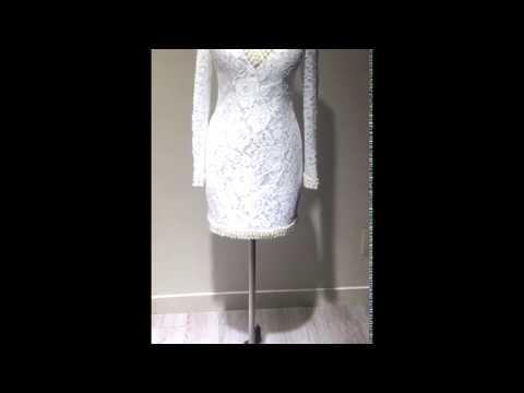 queenderella---a-line-v-neck-short/mini-white-dresses