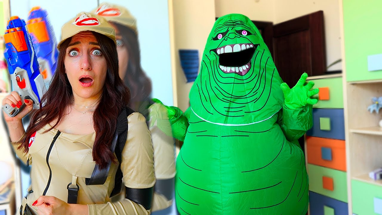 SCAPPA DALLO SLIMER CHALLENGE!!!*VIDEO INTERATTIVO!*