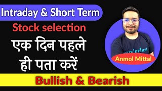 best time to trade stocks during the day | Intraday Stock Selection | Short Term Trading