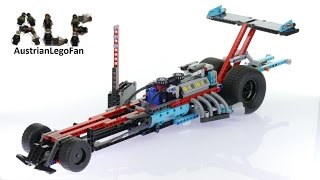 Lego Technic 42050 Supercharged Dragster - Lego Speed Build Review