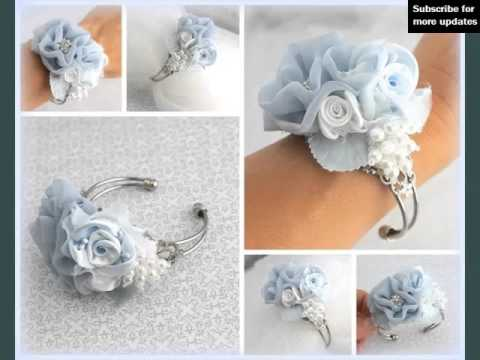 Corsage Light Blue Picture Ideas For Wedding Romance