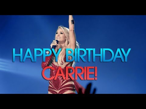Happy Birthday, Carrie!