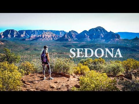 SEDONA Arizona | HIKING and BOONDOCKING Sedona | Doe Mt. | Full Time Truck Camper Living | Van Life