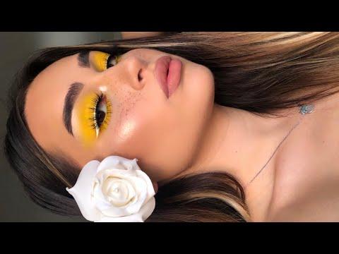 Easy Yellow SUMMER Makeup Tutorial I Aylin Melisa thumbnail