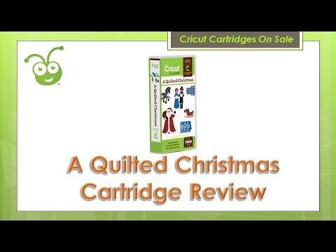 A Quilted Christmas Cricut Cartridge Review - YouTube : a quilted christmas cricut cartridge - Adamdwight.com
