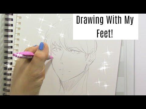 Drawing With Feet Challenge!!