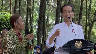 Penyerahan Surat Keputusan Perhutanan Sosial, Cianjur, 8 Februari 2019