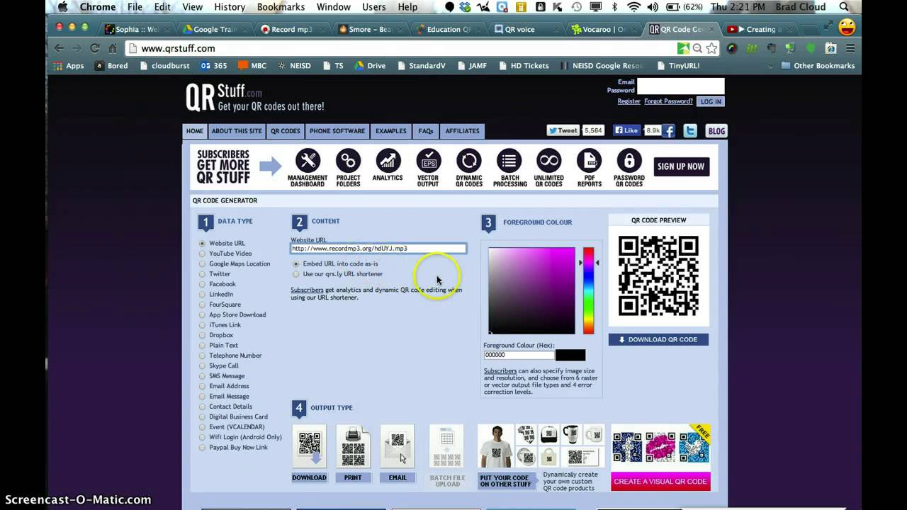 Create an Audio QR Code | Smore Newsletters
